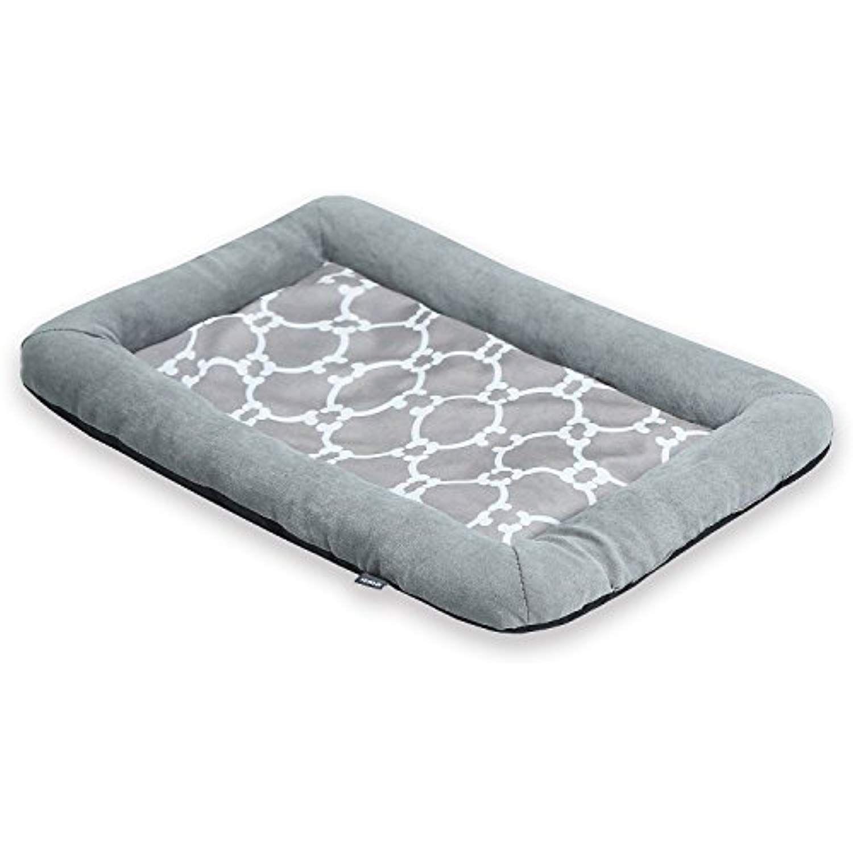 JEMA Pets Bed Mat Ultra Soft Cotton Pad Washable Bolster