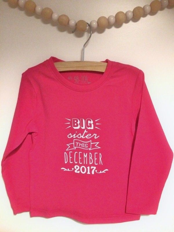 Super Shirt Big sister this   Cameo Baby - Sisters en Shirts @PN07