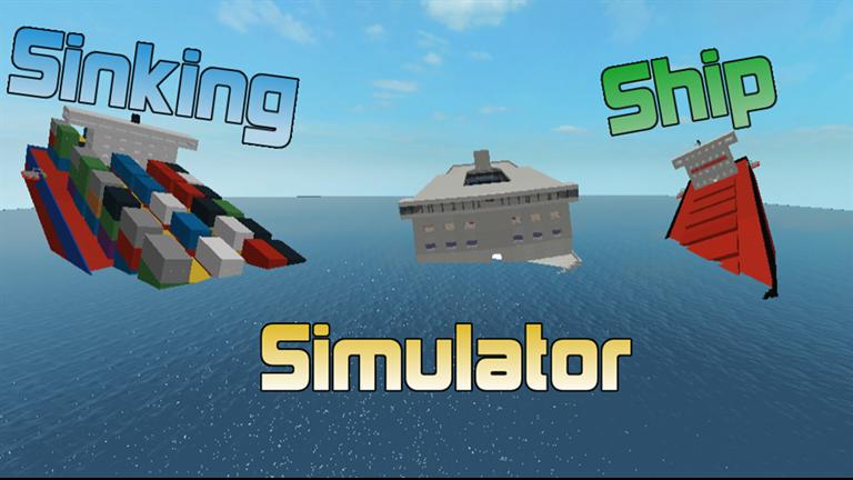 Sinking Ship Simulator V1 0 1 Roblox Simulation Ship Titanic