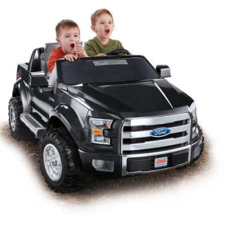 Fisher Price Power Wheels Ford F 150 12 Volt Battery Powered Ride