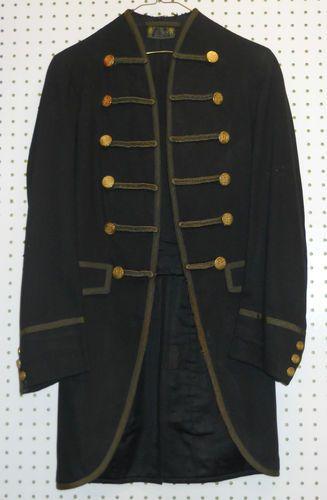 Vintage Victorian 1800 s Wool Levy Bros Band Military Cutaway Jacket Coat  34   eBay fedb02db3fd