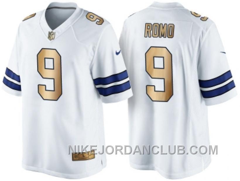 best loved 2c310 2cc44 nike dallas cowboys 9 tony romo white game kids jersey