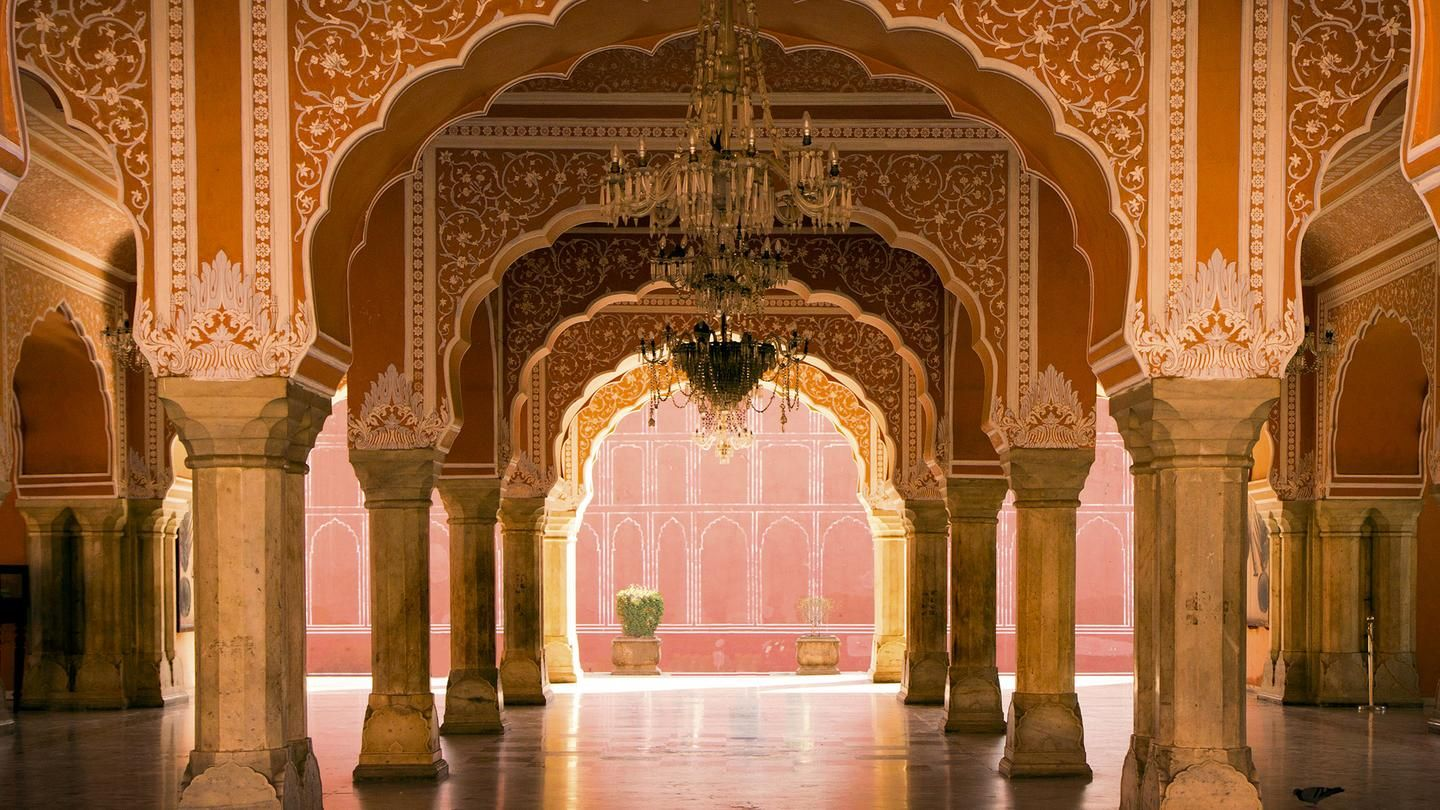 Mysteries of India. City Palace is a blend of Mughal and ...