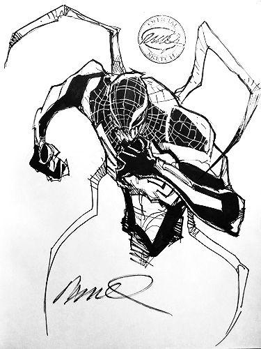 Superior Venom by Humberto Ramos | Drawings: Spider-man (Ramos ...