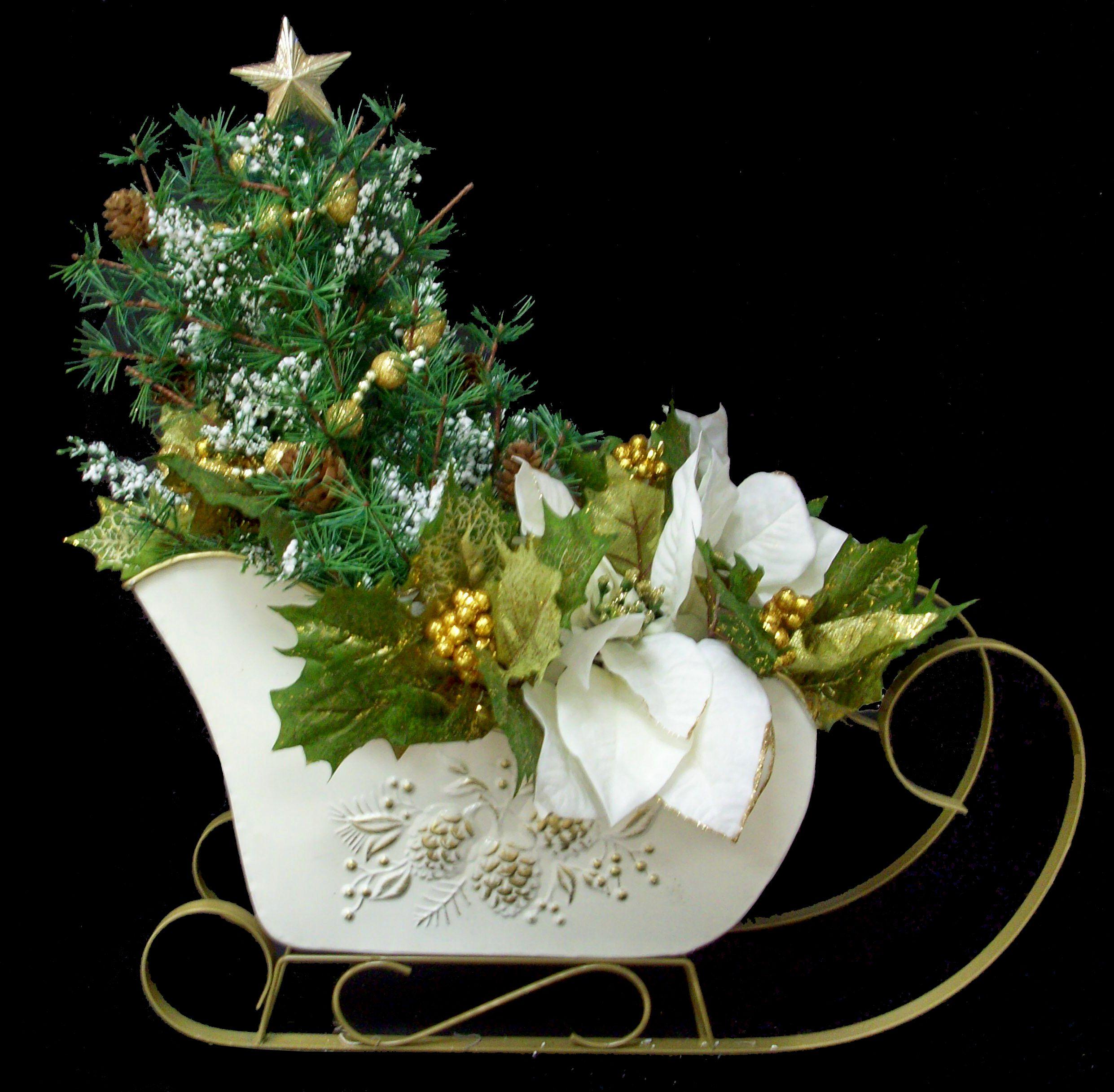 Christmas Tree Store Erie Pa: Winter White Sled Designed By Karen B., A.C. Moore Erie