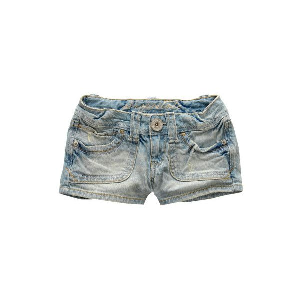 Light Wash Shorty Short ($13) ❤ liked on Polyvore featuring shorts, bottoms, pants, jeans, woven shorts, short shorts, slim shorts, aeropostale shorts, slim fit shorts and aéropostale