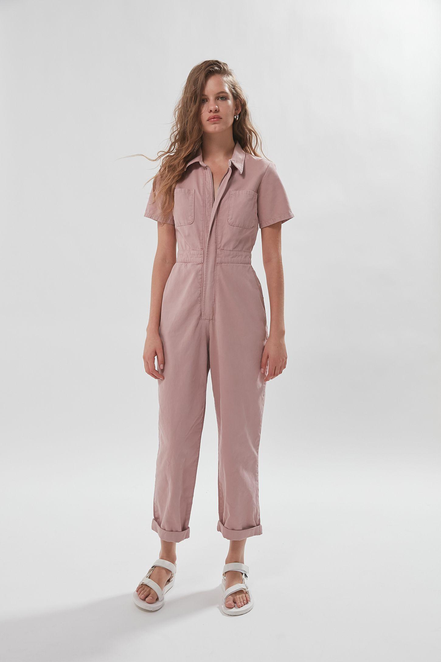 UO Canvas Flight Jumpsuit   Boiler suit, Fashion, Women