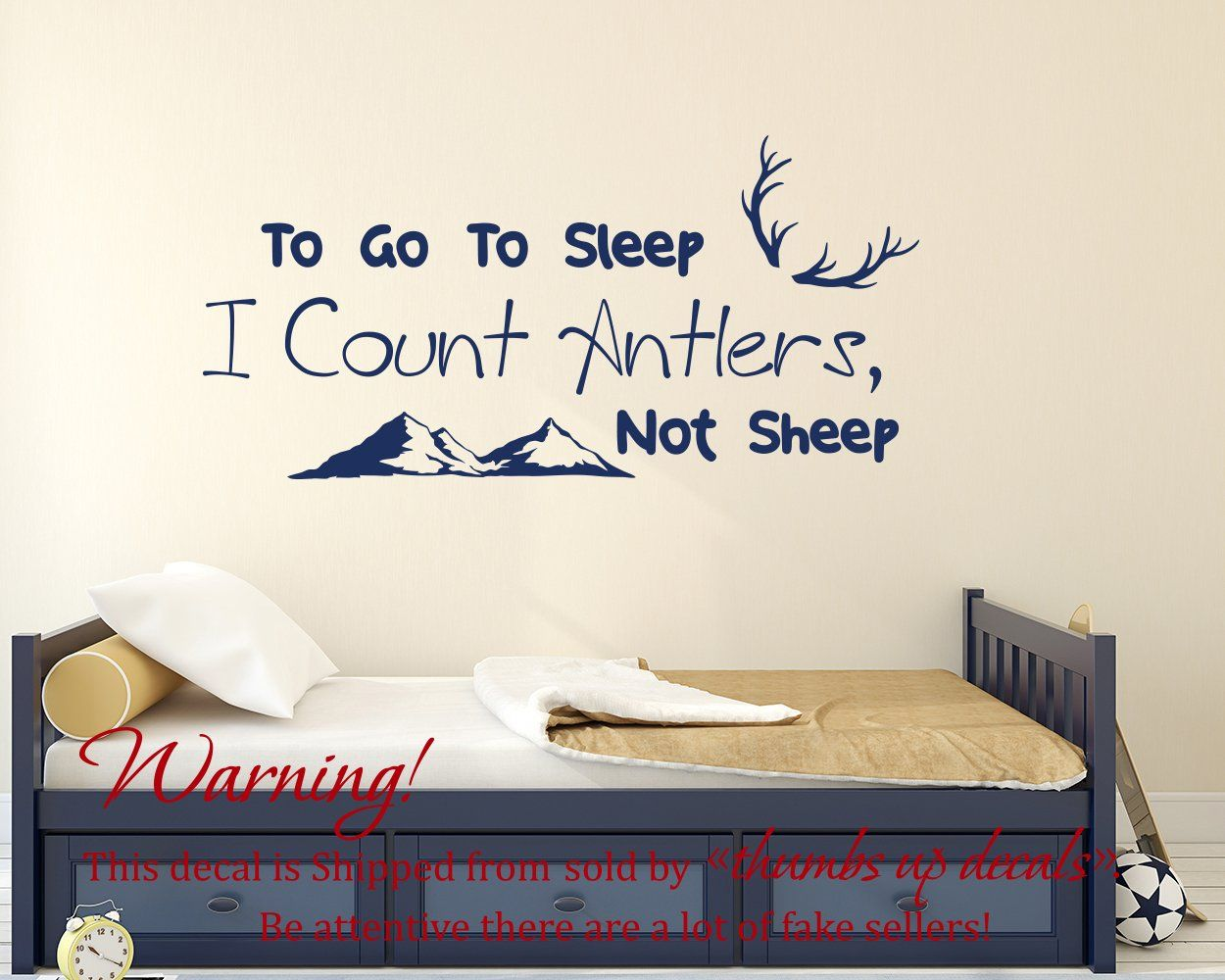 quote wall decal nursery quote stickers deer antler vinyl decal to quote wall decal nursery quote stickers deer antler vinyl decal to go to sleep