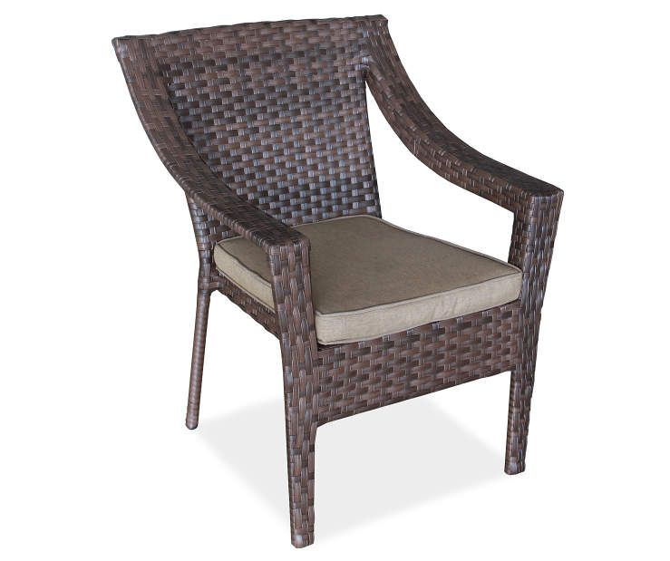 Wilson Fisher Sonoma Resin Wicker Stacking Patio Chair