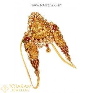 22K Gold Arm Cuff Arm Vanki Arm Belt Arm Chain Indian Gold
