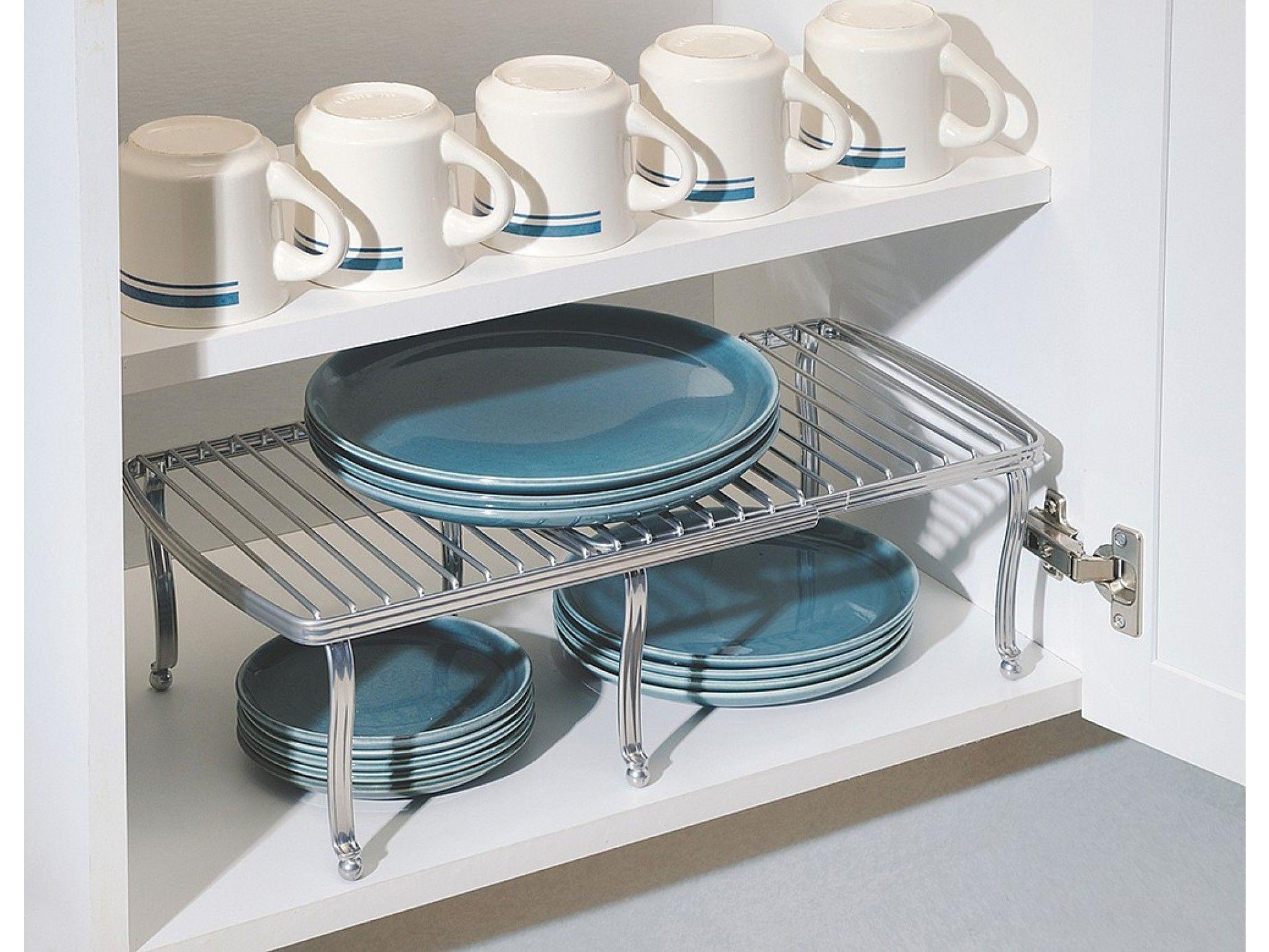 InterDesign Expandable Kitchen Shelf | Kitchen shelves, Shelves and ...