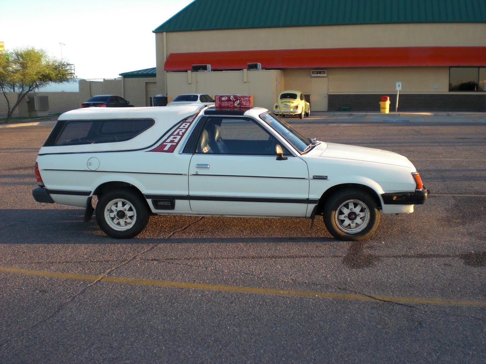 Subaru Brat 1982 Subaru Brat GL Vehicles Pinterest