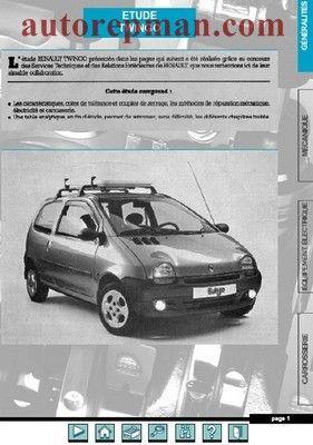 Renault Twingo Rukovodstvo Po Remontu Repair Manuals Car Renault