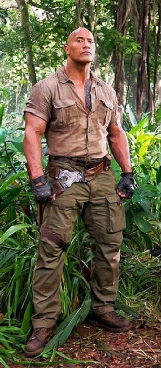 Dwayne Johnson In Jumanji Welcome To The Jungle Dr Xander