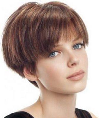 фото женская стрижка короткая шапочка