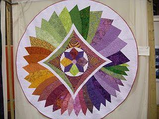 colour wheel quilt variation