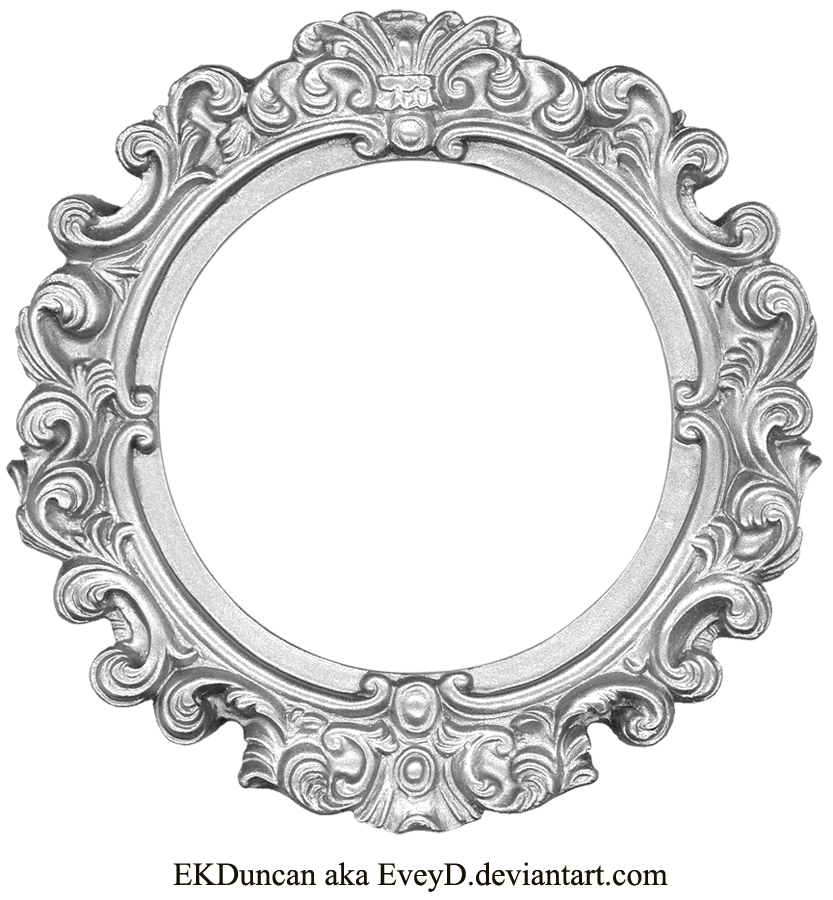 silver antique picture frames. Vintage Silver Frame - Round By EveyD.deviantart.com On @deviantART Antique Picture Frames C