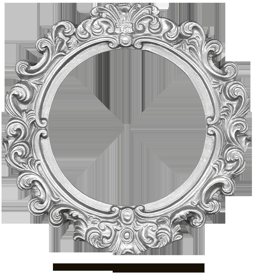 vintage silver frame round by eveyddeviantartcom on deviantart