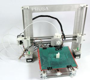 The RepRap Prusa i3 is a self build kit, so if you are a creative type this could be the 3D printer for you. The Prusa i3 is a basic 3D printer very easy to put together. RepRap has put the same quality parts in this kit as they use in their production machines.