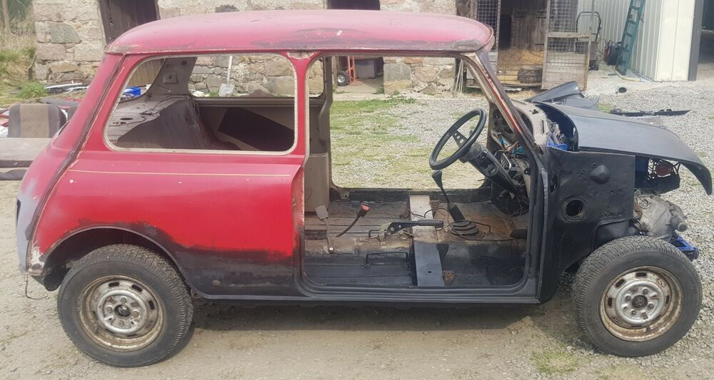 Ad classic austin mini 1987 39k original engine