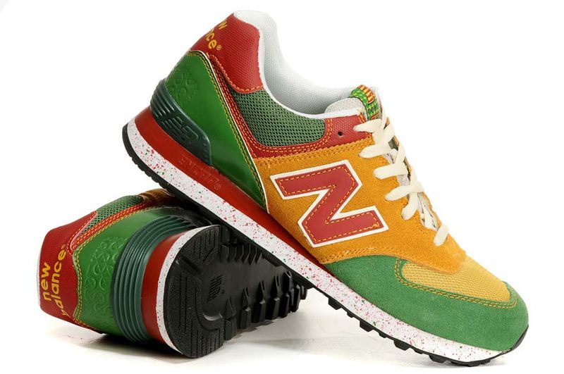new balance green yellow