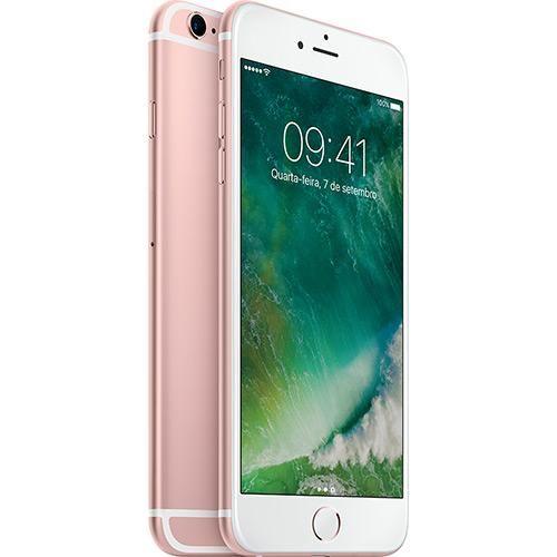 iPhone 6s Plus 128GB Ouro Rosa Desbloqueado iOS 9 4G 12MP - Apple