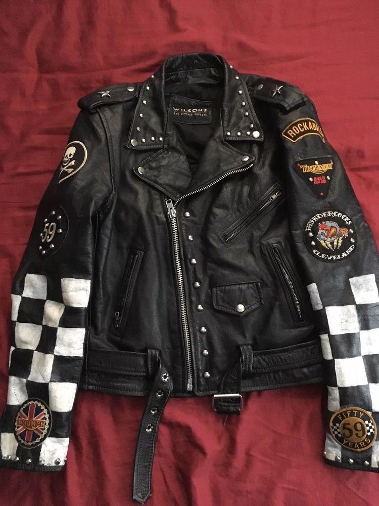 Cafe Racer Motorrad Leder Jacke Herren Motorrad Rocker Leder Jacke Biker Jacke