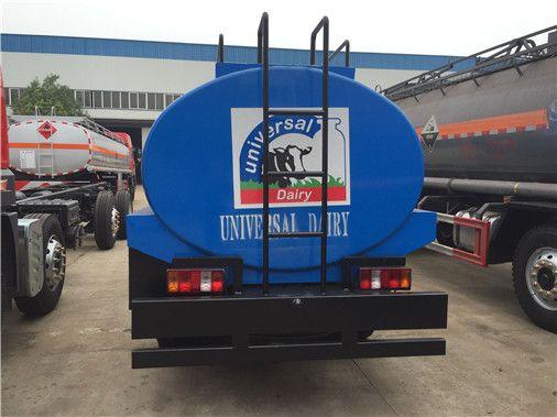Milk Transport Tanker Truck 5000liters Milk Transport Trucks With