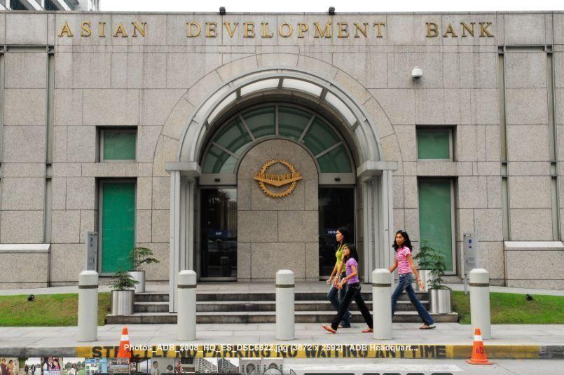 Entrance To Adb Headquarter Asian Development Bank Glassdoor Photos Banks Office Entrance Photo