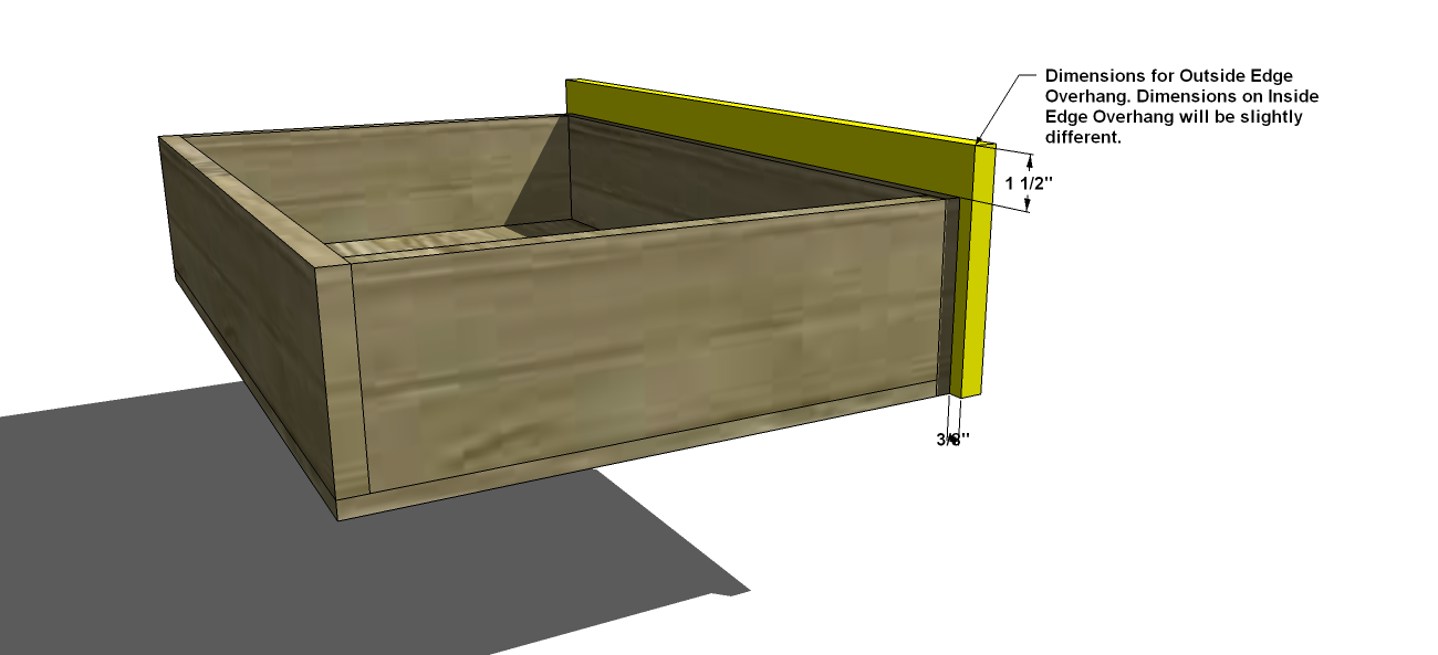 Drawer Front For Free Diy Furniture Plans How To Build A Steppe 6 Dresser