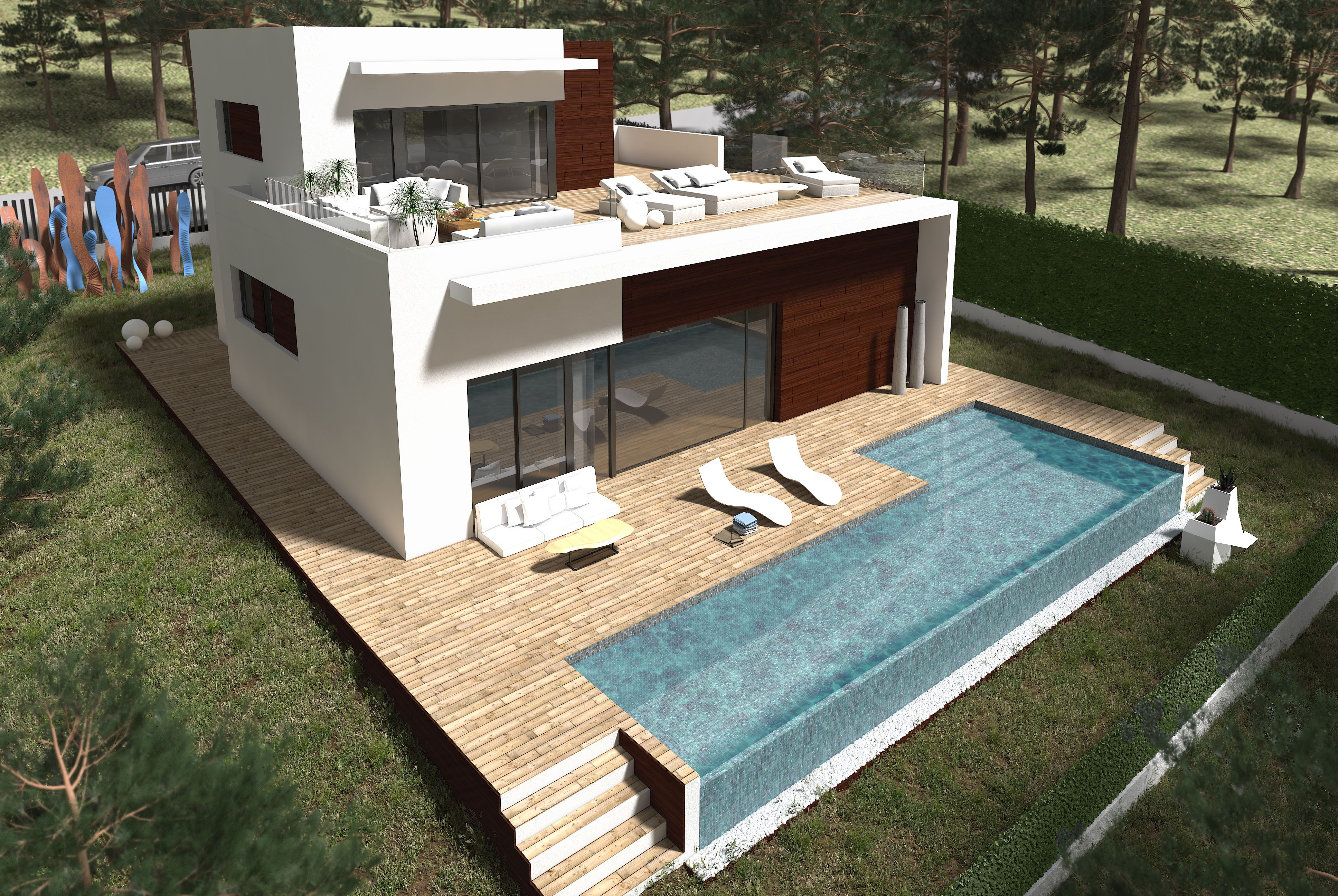 Benissa la fustera villa 160 m2 inside living 800 m2 - Casas en benissa ...