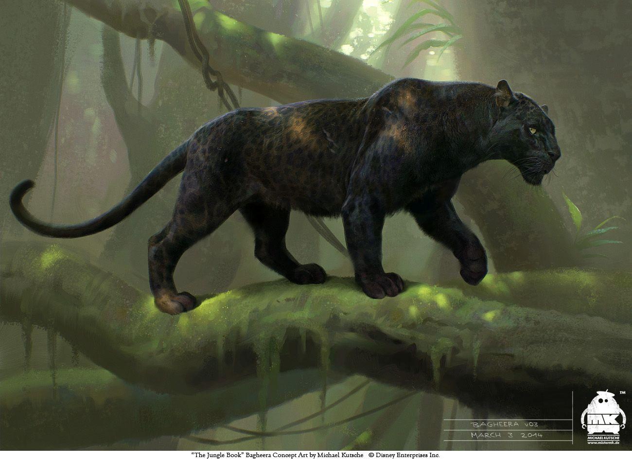 The Jungle Book: Bagheera concept by michaelkutsche on DeviantArt ...