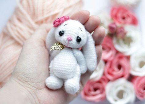 Little crochet bunny pattern | Häckeln, Hase und Kostenlos