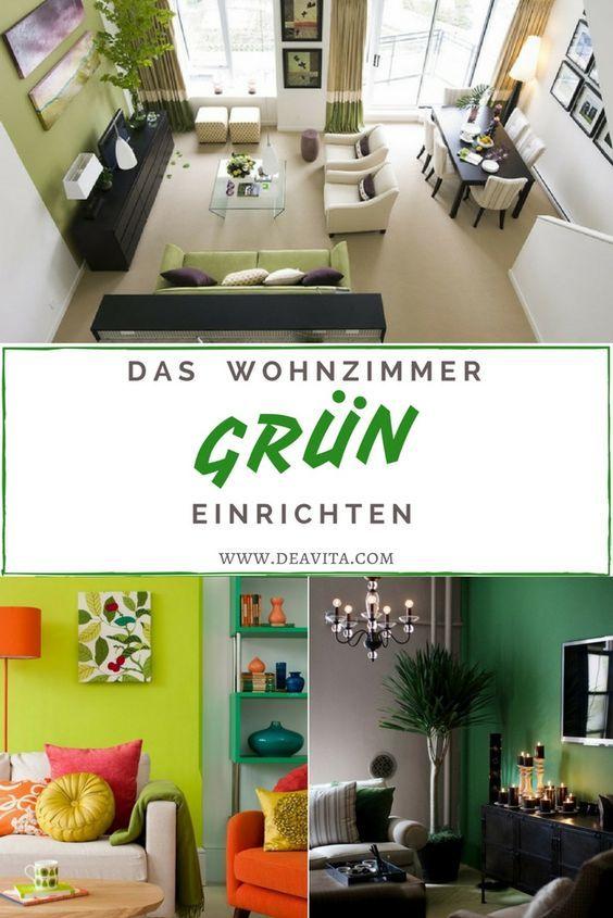 Sie Suchen Nach Ideen Für Wohnzimmer Farbgestaltung? Hier Sind Sie Richtig  U2013 Wir Zeigen Ihnen 28 Ideen Für Wandfarbe In Grün U2013 Von Limettu2026