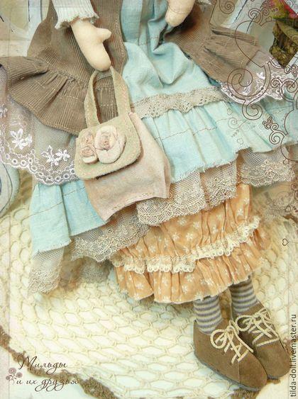 Купить или заказать Кукла в стиле Бохо: Тамия ( коллекция Бохо Шик ...