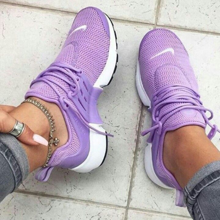 Purple Nikes