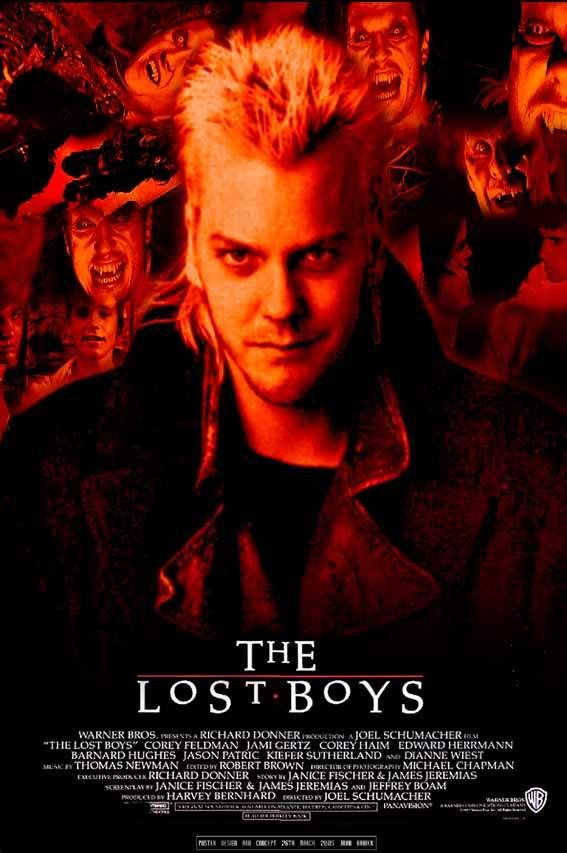 The Lost Boys Poster Movies For Boys Lost Boys Movie Vampire Movies