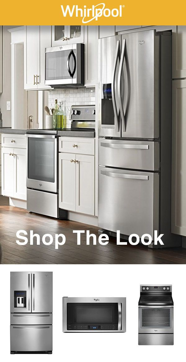 Shop The Look Whirlpool Stainless Kitchen Suites Stainless