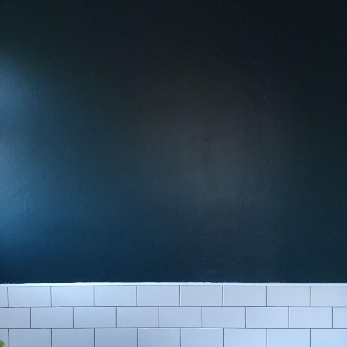 Farrow Ball Hague Blue White Tiles Blue Laundry Rooms White Bathroom Tiles Dark Blue Feature Wall