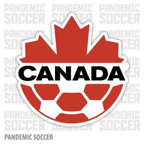 Canada National Soccer Team Canucks Vinyl Sticker Decal Canada Soccer Soccer Logo Soccer Team