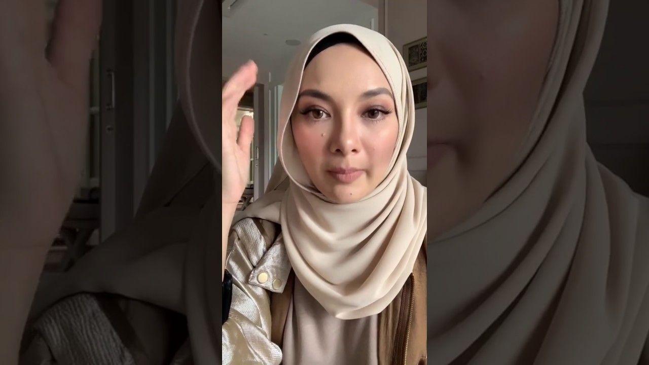 Naelofar Hijab Tutorial Neelofa Fashion Pashmina Hijab Tutorial Fashion 2020