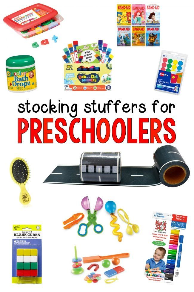 Stocking Stuffers for Preschoolers - I Can Teach My Child!