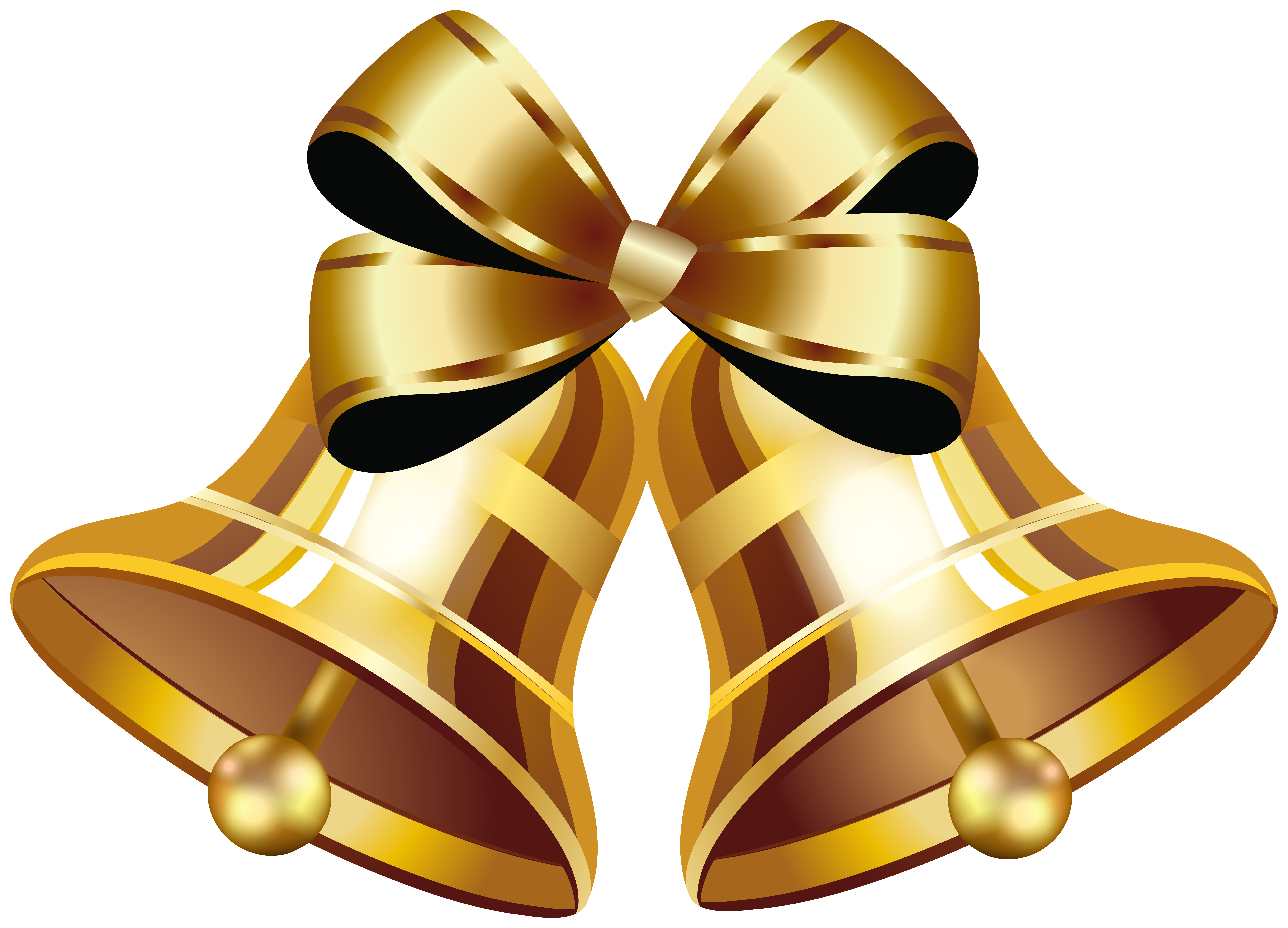 Christmas Gold Bells Png Clip Art Image Gallery Yopriceville High Quality Images And Transparent Png Free Clipart Art Images Clip Art Free Clip Art