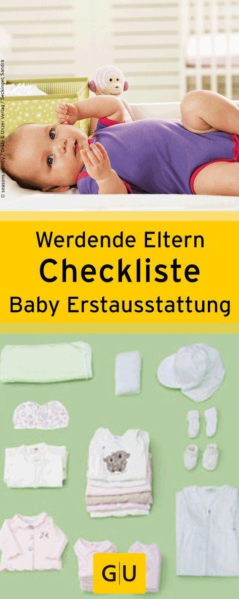 praktische checkliste f r werdende eltern das ben tigt ihr f r babys erstaustattung die liste. Black Bedroom Furniture Sets. Home Design Ideas