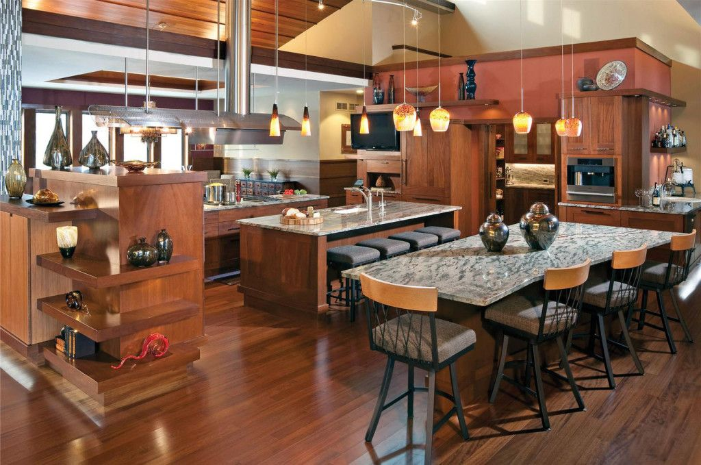 alluring Handsome Open Kitchen Ideas‎