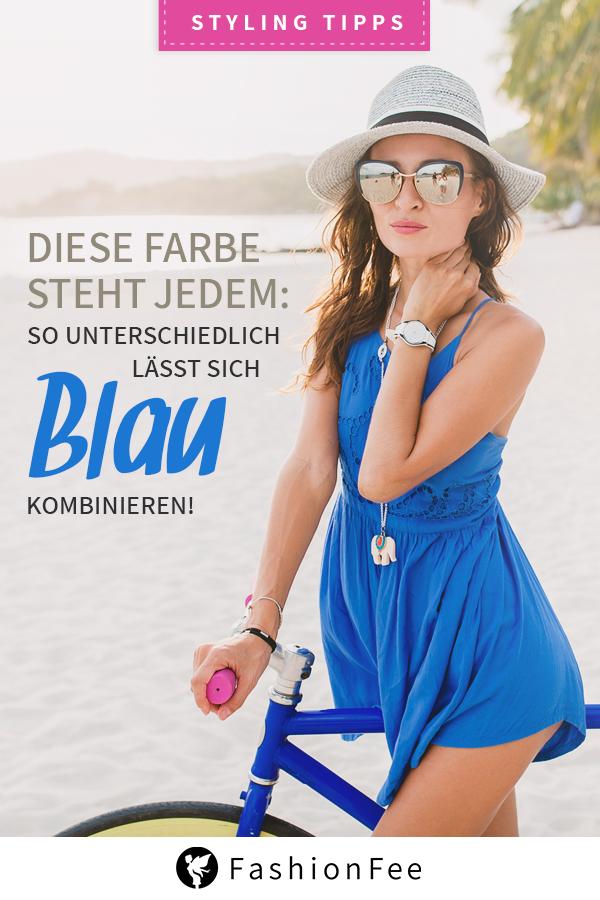 Blau kombinieren: So stylt man die nordische Farbe richtig