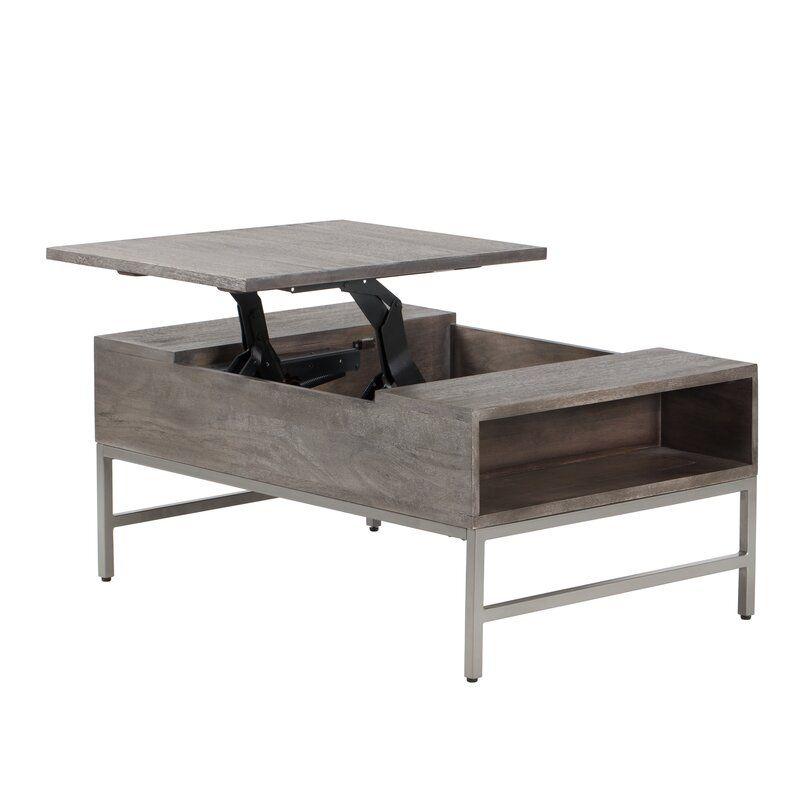 Norris Lift Top Storage Coffee Table Reviews Allmodern