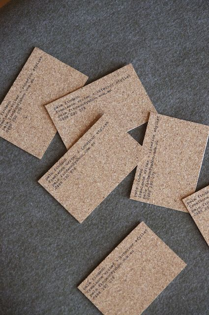 Cork board cards other inspirations pinterest cork business cork board cards colourmoves