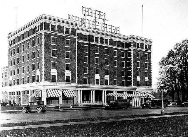 Hotel Monticello Longview Washington By Uw Digital Collections