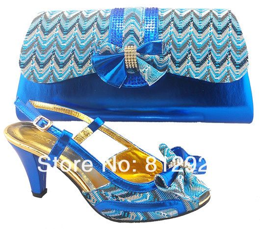 Italian Shoes With Matching Bag High Quality For Occasion Italy Shoes And Bag For Evening Free Shipping  US $81.99